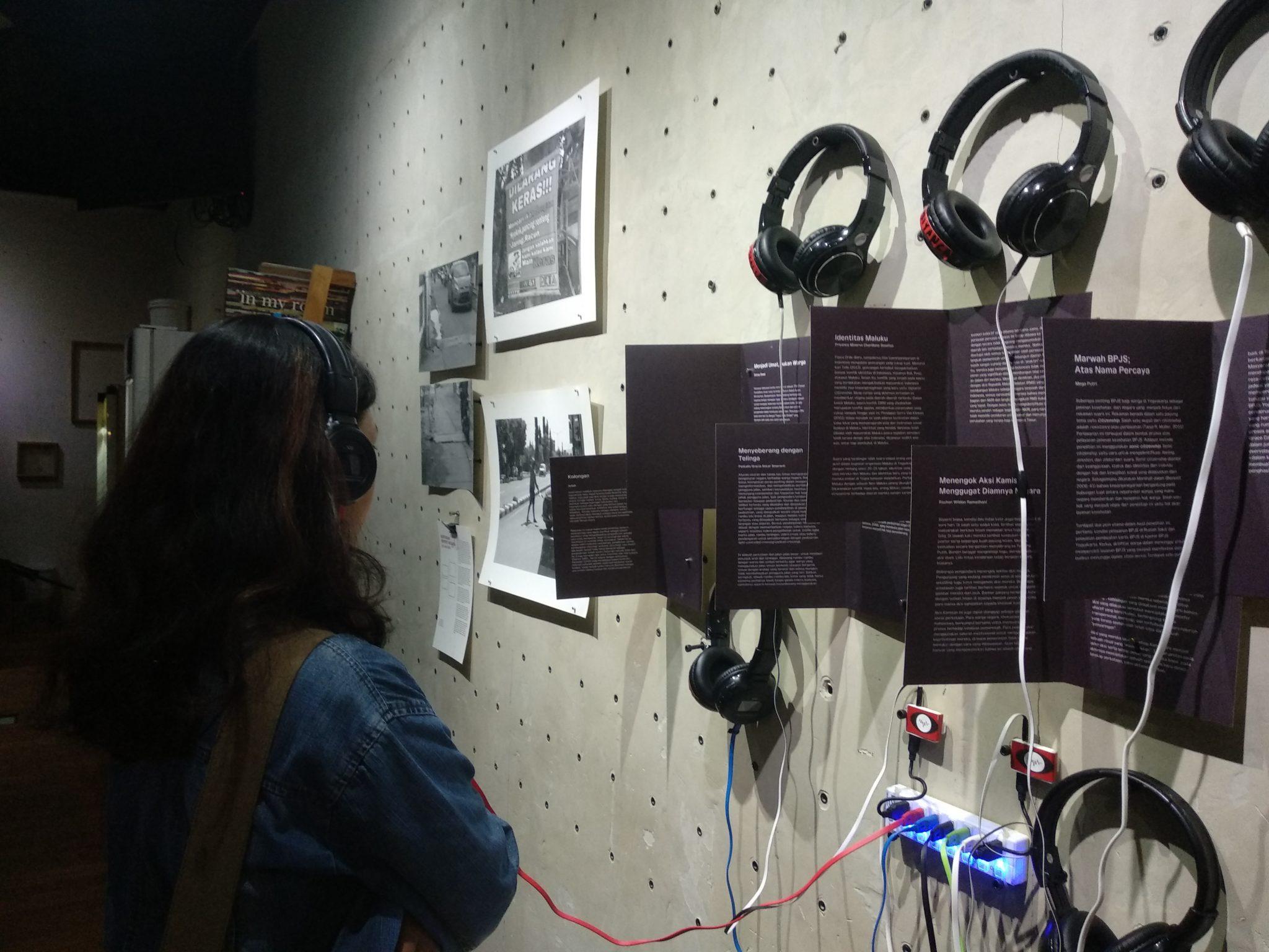 Karya pameran Mata Suara Warga