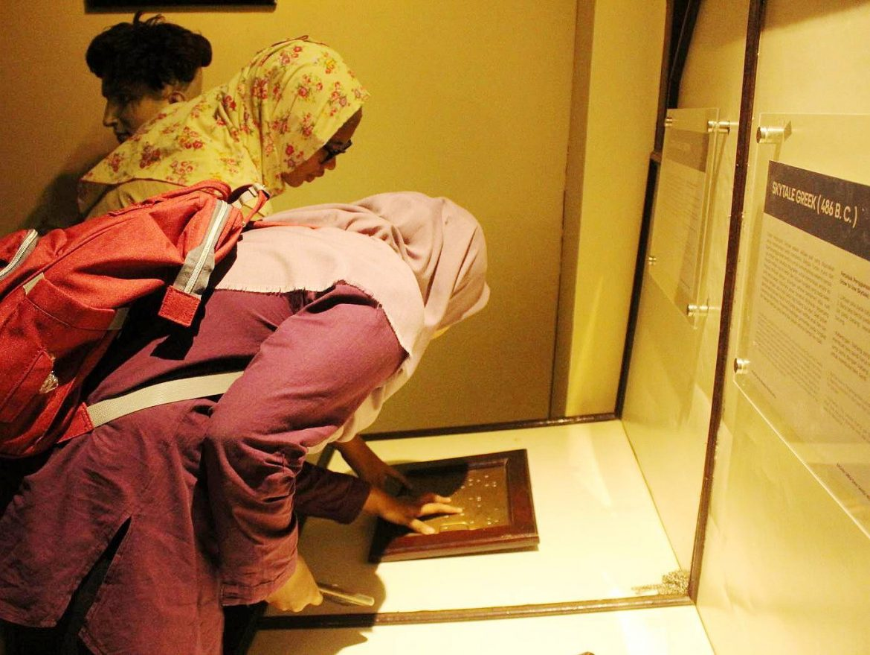 Pengunjung Museum Sandi